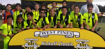 West Pines Kickoff Classic – U13 Blue Champions