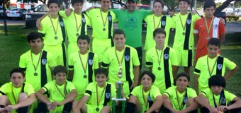 Try-County League U14 White Champions Early Season 2013