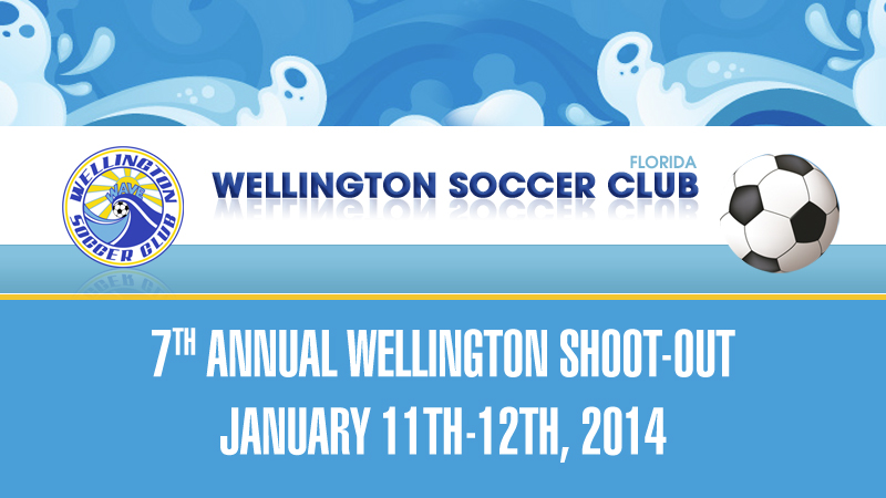 7TH ANNUAL WELLINGTON SHOOT-OUT, JANUARY 11TH-12TH, 2014