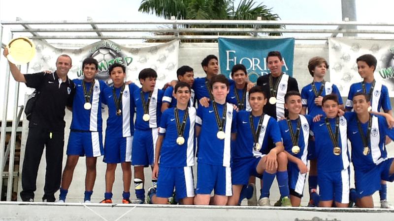 U15 Blue Champions – Kelme Cup Naples
