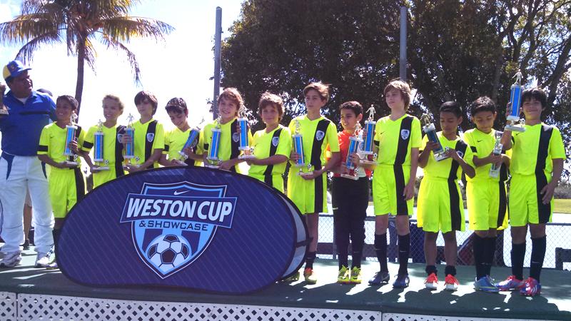 U11 White Champios Weston Cup