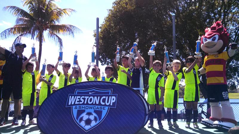 Weston Cup 2014 Champions!