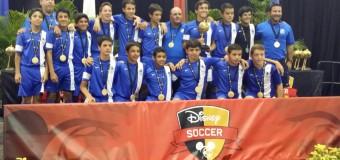 U14 – White Disney President's Day Champions