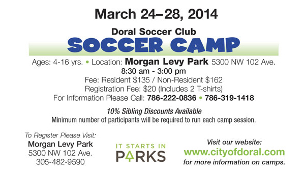 SPRING CAMPS
