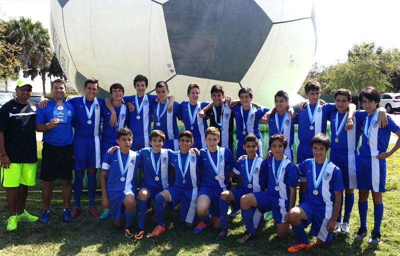 U14 White Champion's Region Cup A Div 2