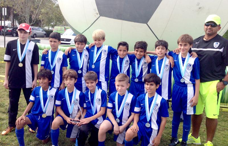U11 Blue Champion's Region Cup A Div 2