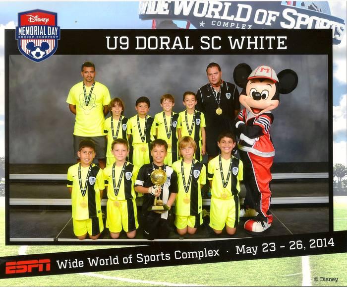U9 White Disney Memorial Day, May 23/26, 2014