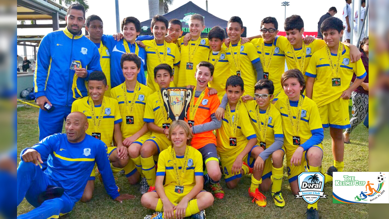 U14 Blue Champion's Naples Tournament 2015