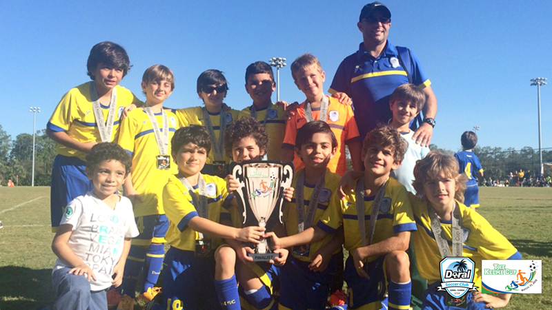 Finalist U9 Blue Coach Roberto Villagra – Naples 2015