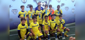 U12 Blue Champion's Weston Tournament 2015