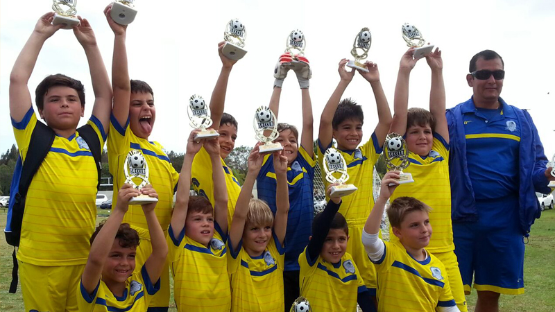 World Cup DSC U9 Black Champion's