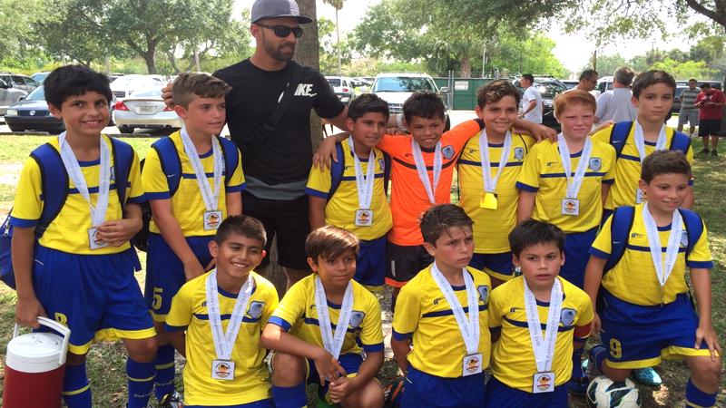 U11 White Finalist South Florida Cup April 25/26 – 2015