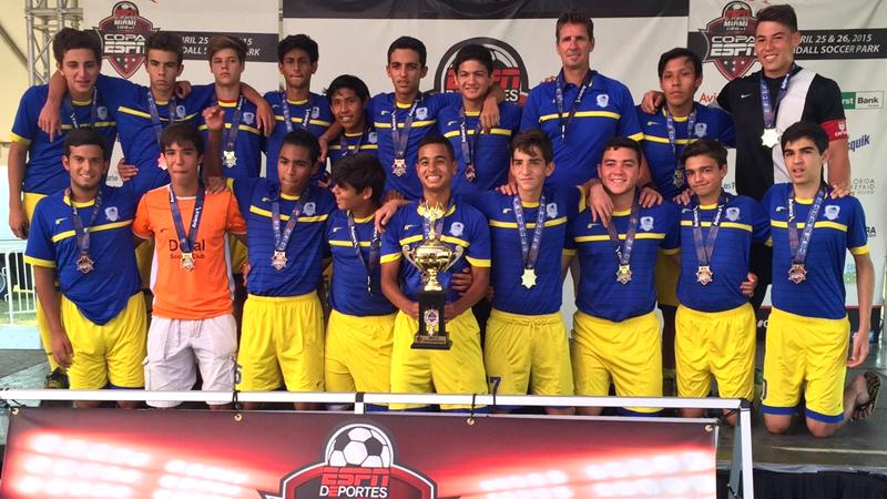 U16 White Champion's Copa ESPN Miami April 25/26 – 2015