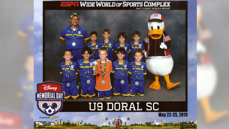 U9 White Finalist – Disney Memorial Day  May 2015