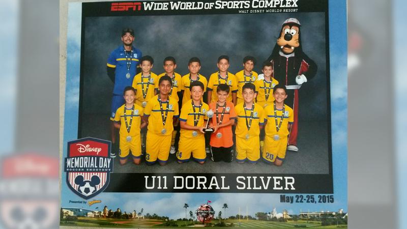 U11 Blue Finalist Disney Memorial Day  May 2015