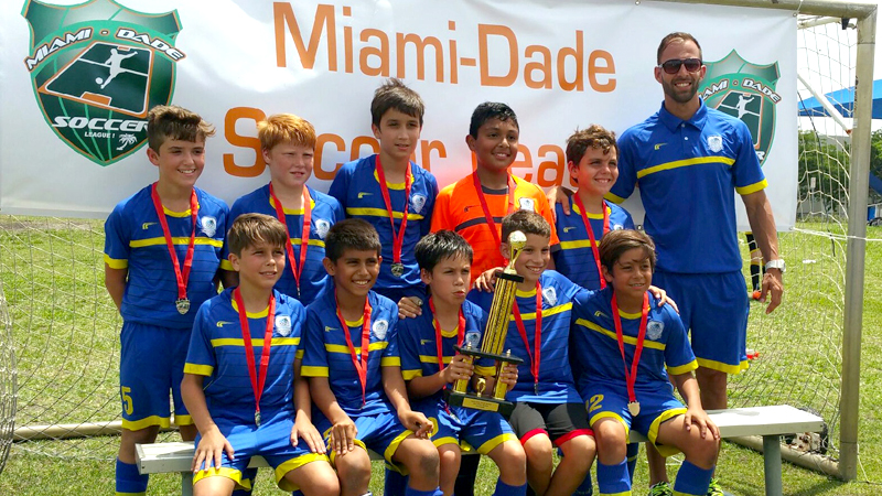 U11 White Champions Miami dade soccer league