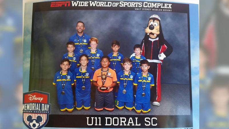 U11 White Semi-Finalist – Disney Memorial Day  May 2015