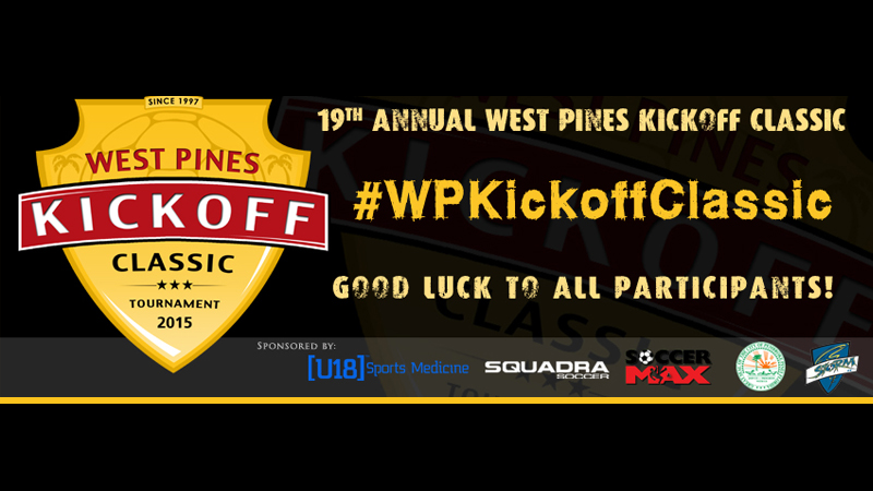 West Pines KICK-OFF Classic 2015, 19th Annual