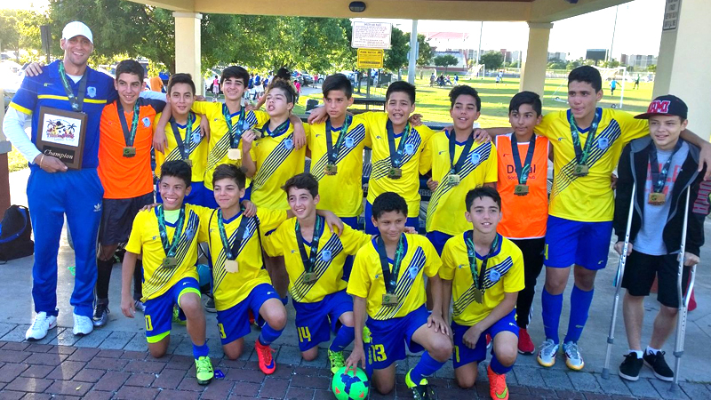 U14 white chamption thanksgiving gold cup 2015