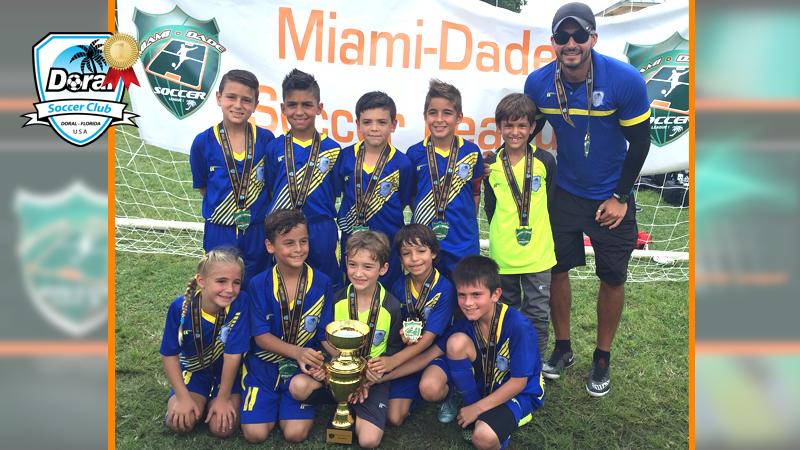 Champion's U9 White – Miami Dade Soccer League