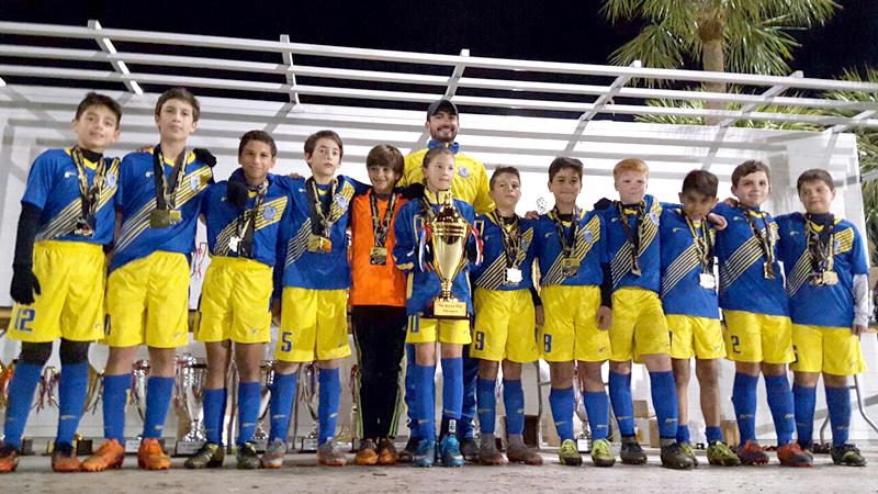 Doral Soccer U12 WHITE CHAMPIONS Naples_2016