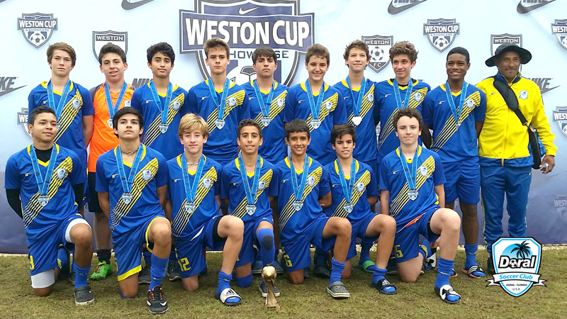 U15 White Champion's Weston Cup President day 2016