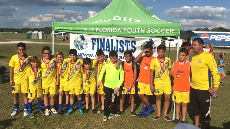 U12 Red Finalist Sarasota Cup April 23/24, 2016