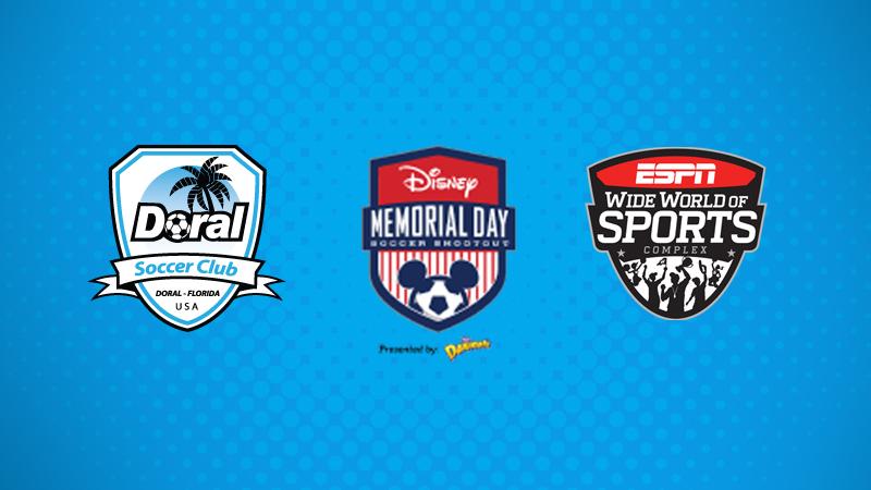 Disney Memorial Day Soccer Shootout 2016