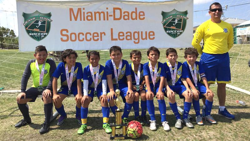U9 Blue Champions MDSL May 2016