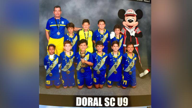 U9 Blue Final Four Disney 2016
