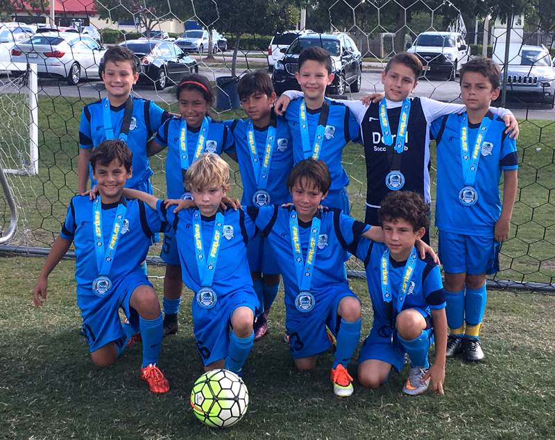 U10 White Finalist The Pre- Thanksgiving Gold Cup