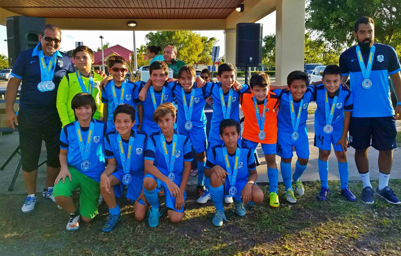 U12 Blue Champion's The Pre- Thanksgiving Gold Cup