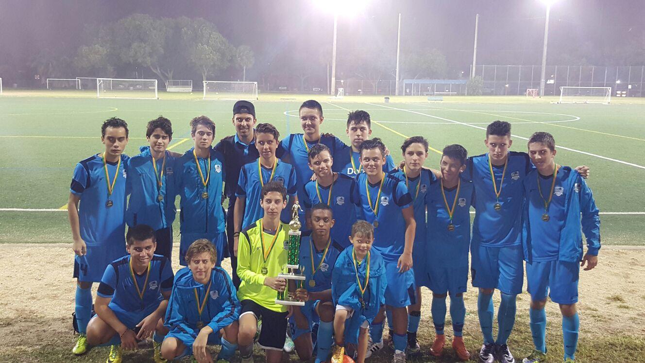 U17 White Champions Tri County League
