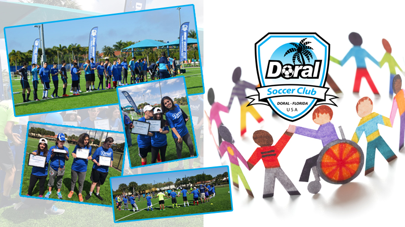 Doral Special Needs Soccer Clinic Feb. 25th-26 2017
