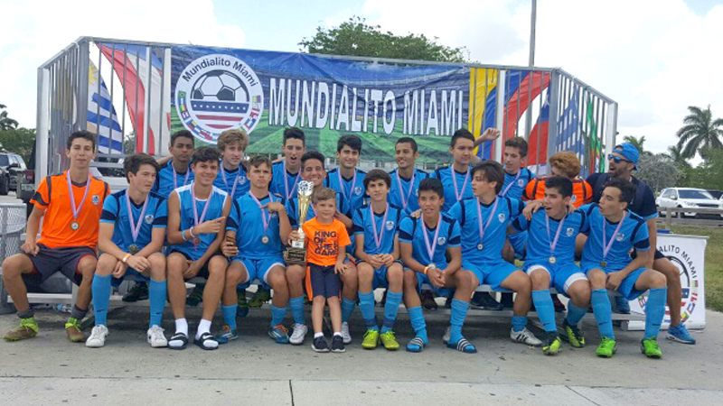 "U17 Champion ""Mundialito Miami"" April 10-15, 2017"