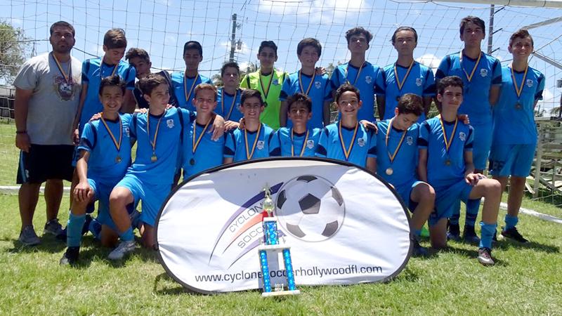U14 White Champion Try County League