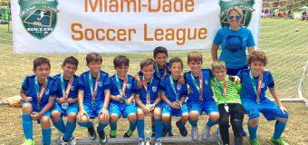U9 Finalist Miami Dade Soccer