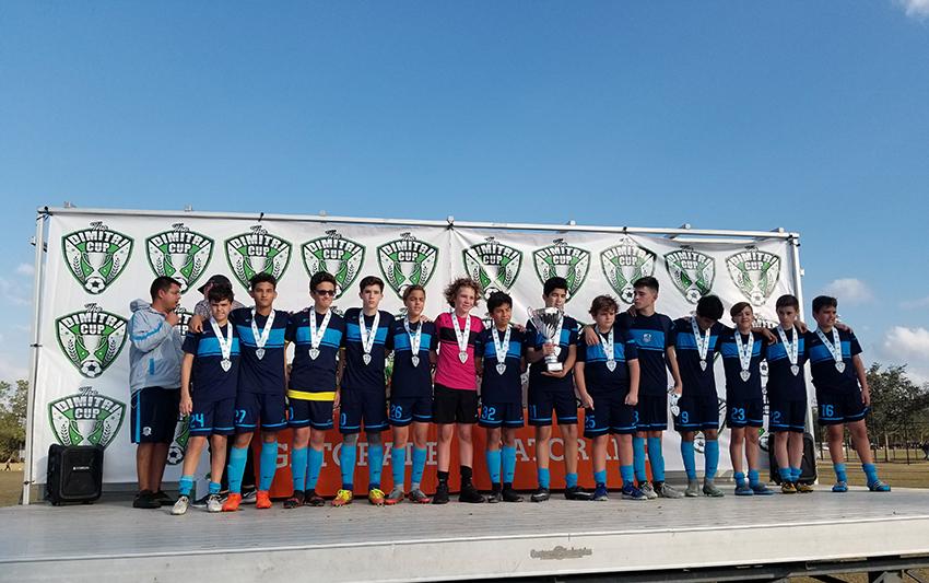 U14 Blue Finalist DIMITRI CUP 2018