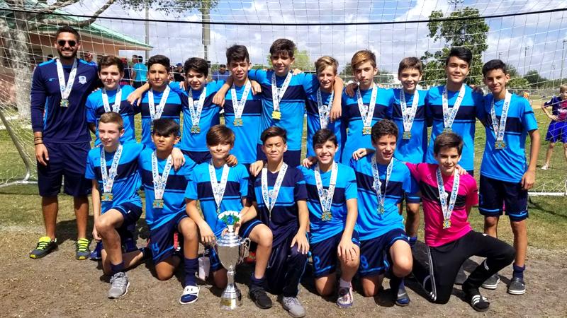 U14 White SFUYSA Champion's Season 2017 – 2018