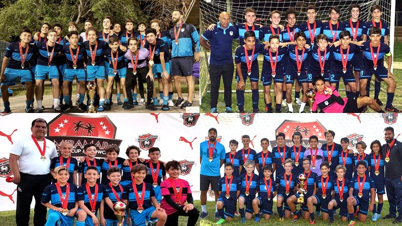 Doral Champions / Finalist Miramar Showcase Soccer Cup March 2018