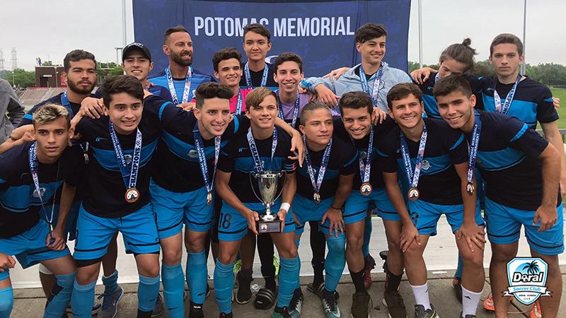 U18 Elite Champion's Potomac Maryland Memorial Day 2018
