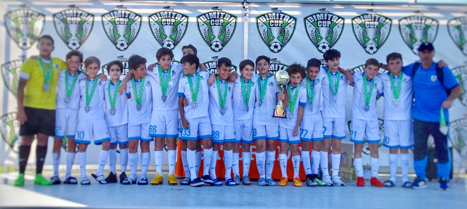 U13 Premier Champion's Dimitri Cup January 12/13, 2019