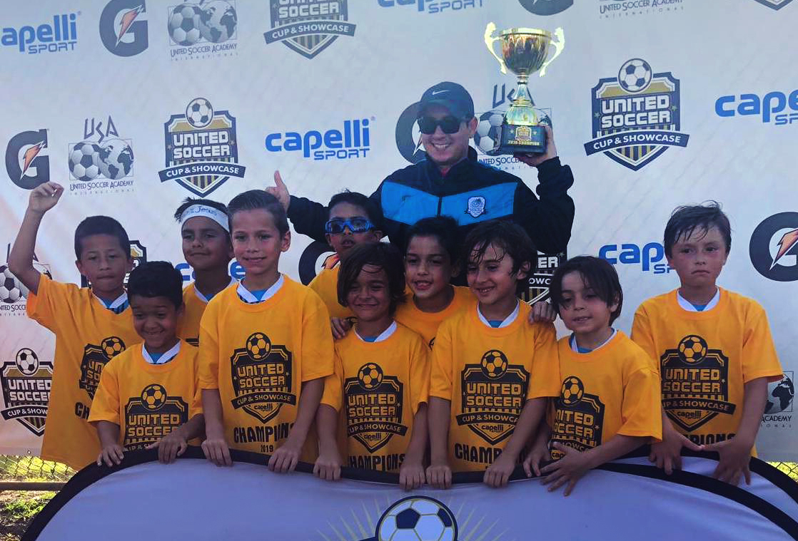 U8 Elite Champion's United Soccer Cup March 2-3, 2019