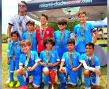 U9 Premier Champion's Miami Dade Soccer League Spring Season 2019