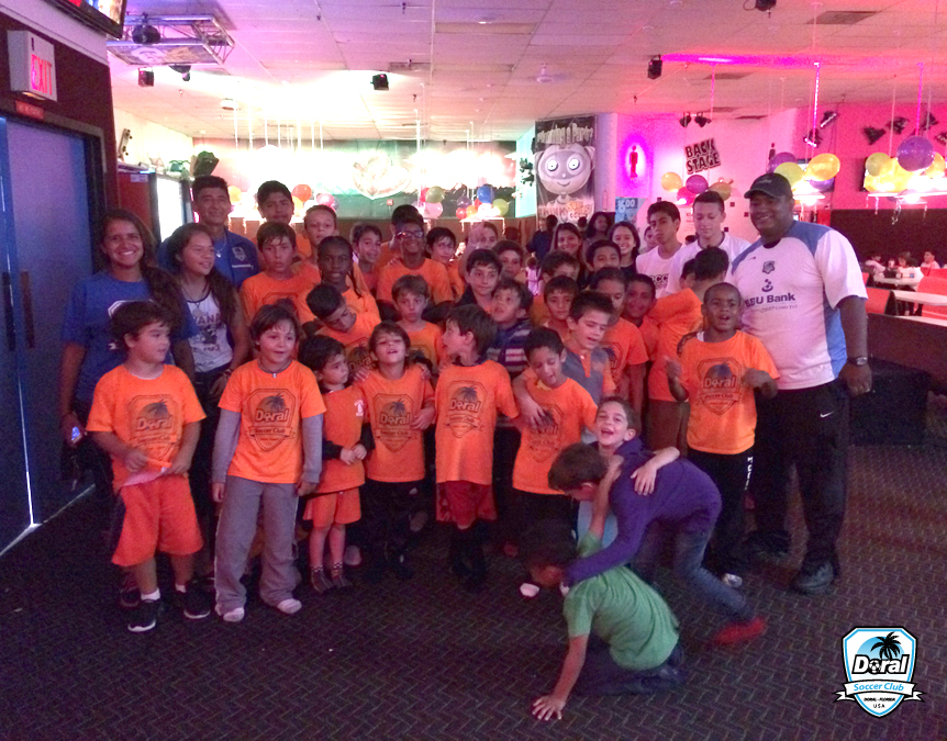 Doral Soccer Club Summer Camp 2014
