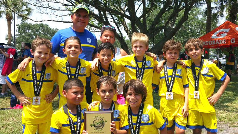 U9 White Champion's South Florida Cup April 25/26 – 2015
