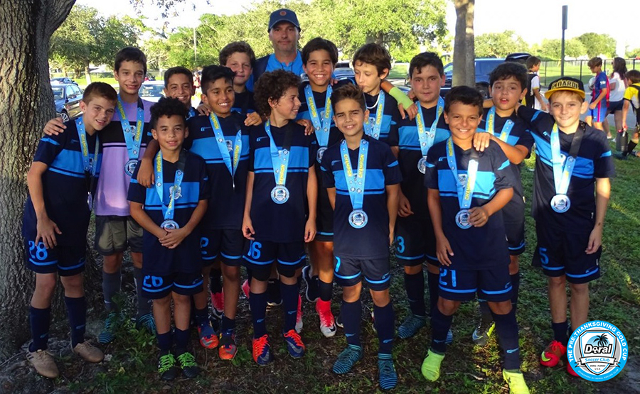 U12 Blue Champion's Pre-Thanksgiving 2017