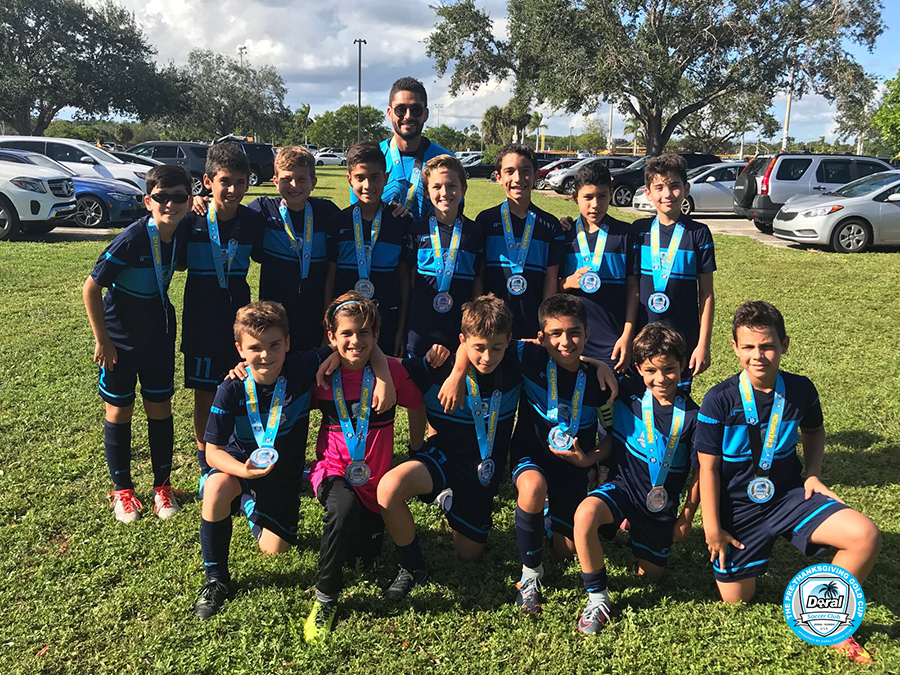 U12 White Champion's Pre Thanksgiving 2017