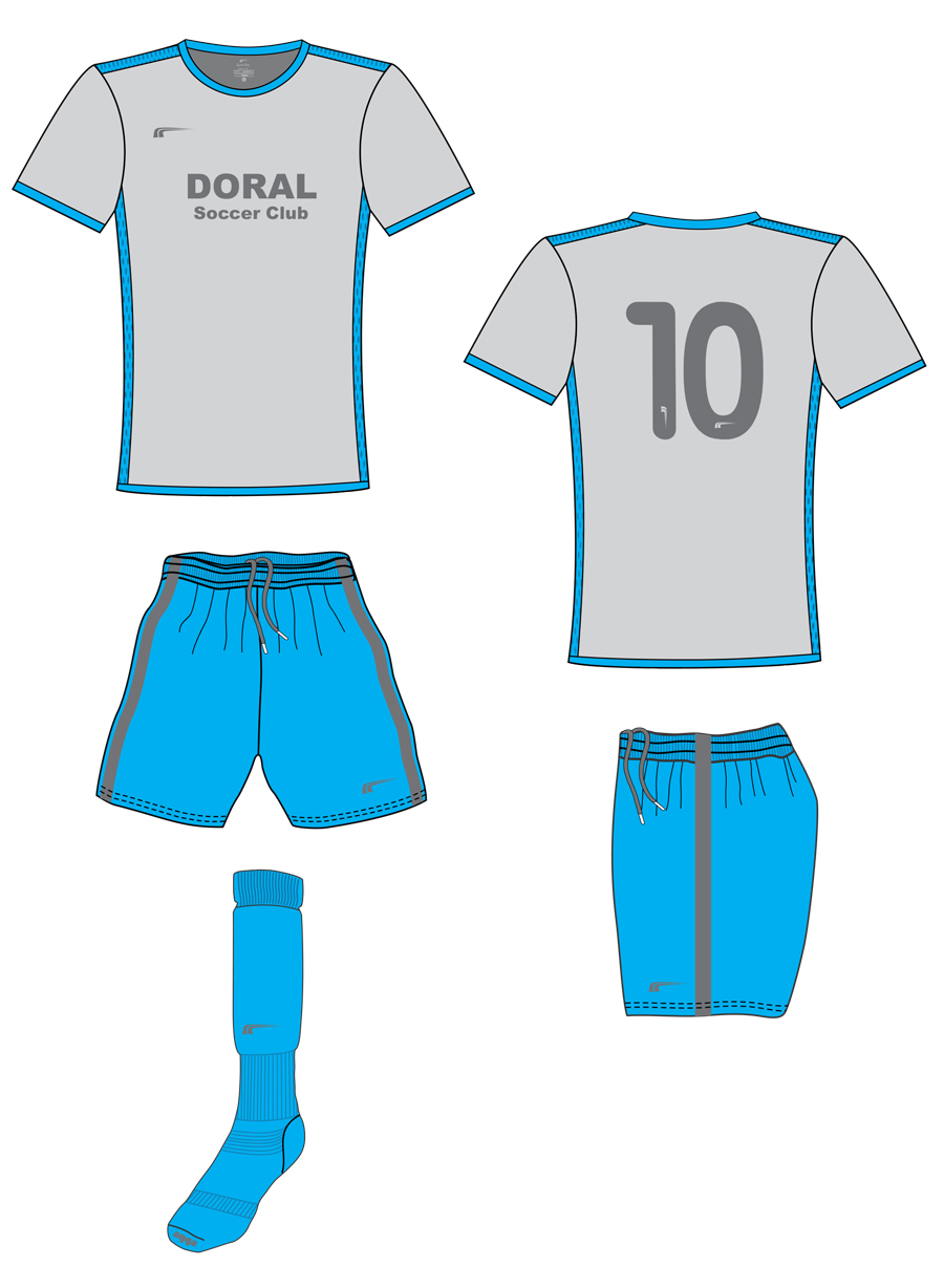 Academy Uniforms 2018 - 2019 | Doral Soccer Club