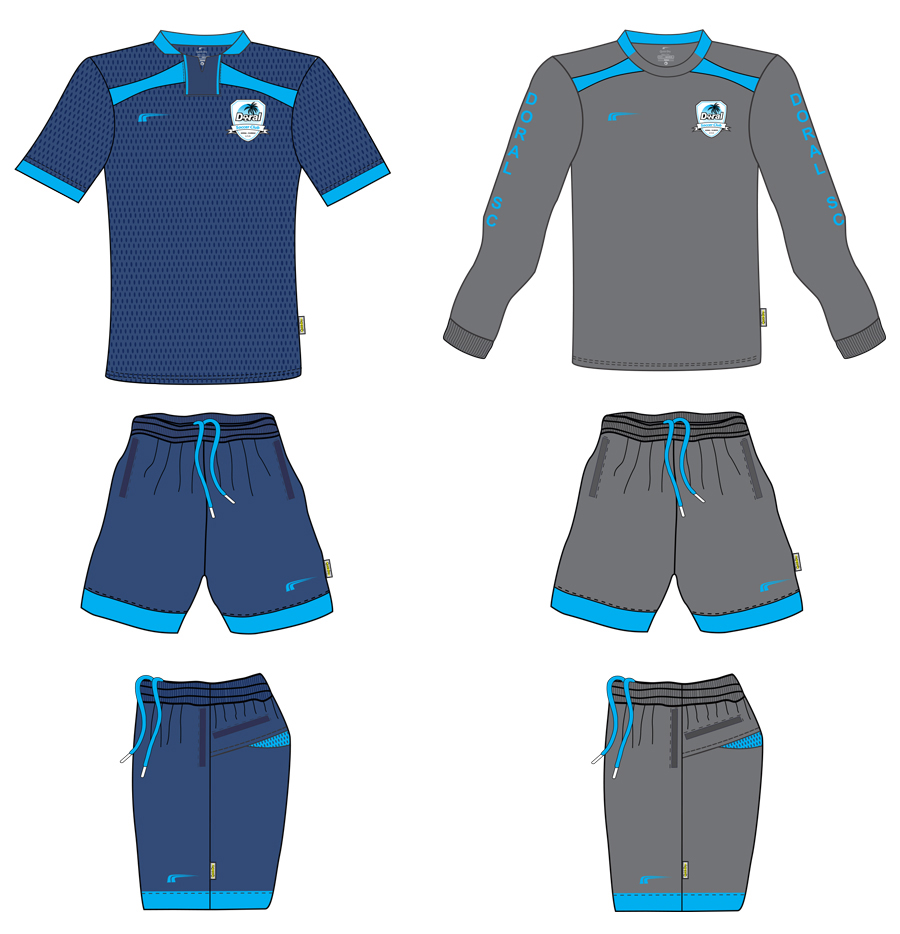 Coach Uniforms 2018 - 2019 | Doral Soccer Club